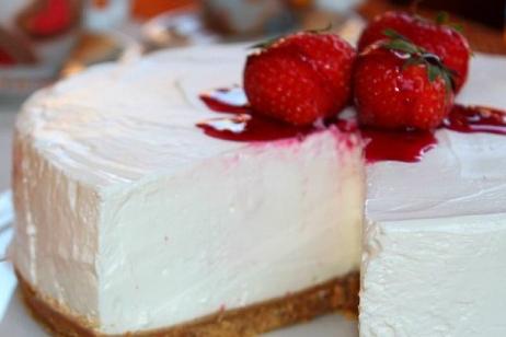 Torta fresca allo yogurt